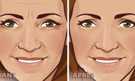 6 façons naturelles de réduire les rides sur le visage