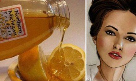 Mélange de citron, banane et miel contre les rides. Découvrez comment préparer ce botox naturel !