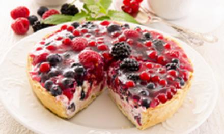Recette facile: Tarte mousse blanche et fruits rouges
