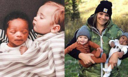 « Je me tenais là, avec mon petit garçon de 3 mois dans les bras, pendant qu'elle m'envoyait des photos de l'échographie du bébé qui grandissait dans son ventre. J'étais sans voix. Mais je le savais aussi. Au fond de moi, je le savais. »