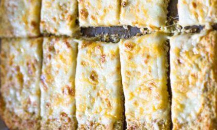 Recette : Pizza au chou-fleur sans farine et tellement délicieuse