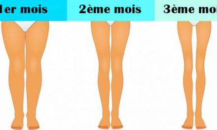 Affinez vos jambes en 3 minutes avec ces exercices simples et efficaces