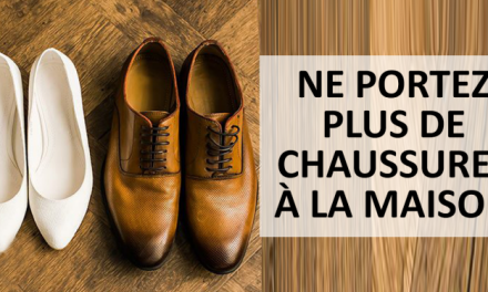 Les scientifiques demandent de ne plus porter de chaussures à la maison à cause des maladies