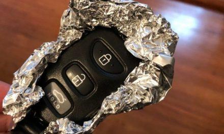 Voilà pourquoi vous devriez toujours envelopper les clés de votre voiture dans du papier aluminium