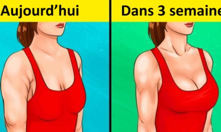 Voici comment avoir des bras fermes et une jolie poitrine