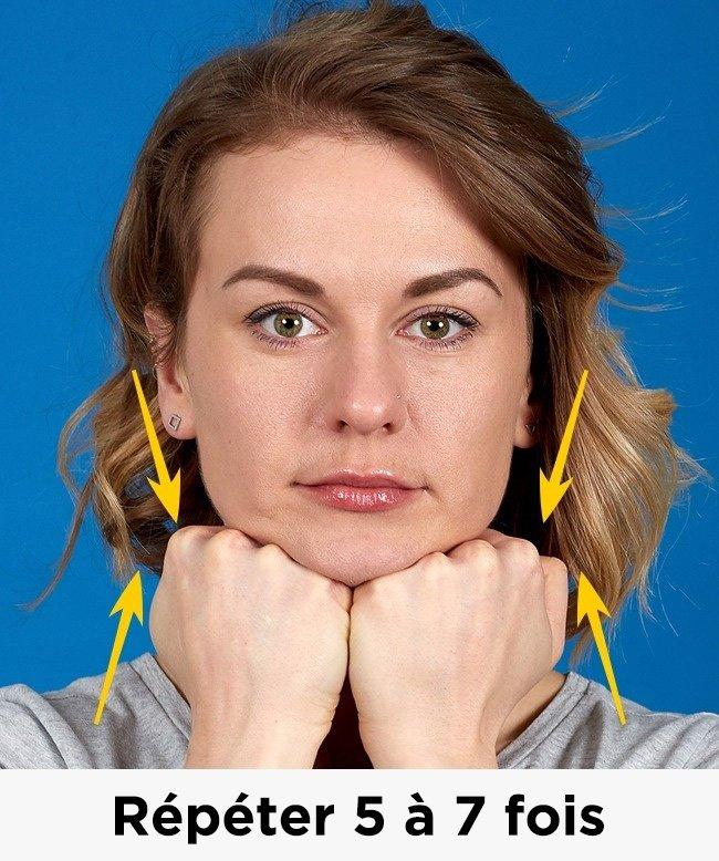 Voici les 7 meilleurs exercices pour se débarrasser du double menton