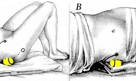 Utilisez une balle de tennis pour soulager la douleur du nerf sciatique et le mal de dos