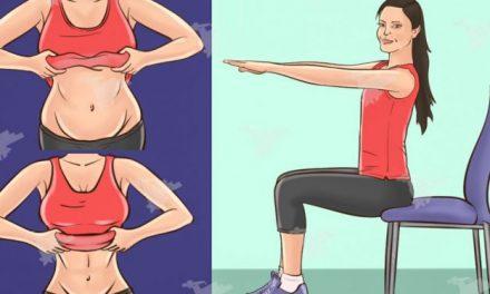 5 exercices de chaise qui réduiront votre graisse du ventre pendant que vous êtes assis