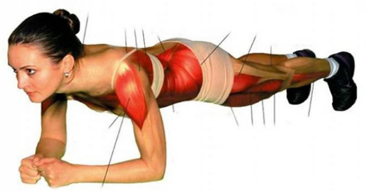 Cet exercice resserre tous vos muscles et vous aide à vous débarrasser des kilos en trop
