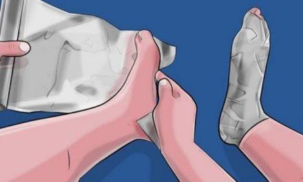 Enveloppez vos pieds dans du papier aluminium, ça remplace 5 médicaments