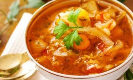 Perdez du poids en une semaine avec cette délicieuse soupe brûle-graisse